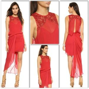 SALE : NWT Free People RED Party DRESS