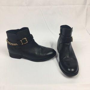 Steve Madden Shoes - Steve Madden Black Leather Ankle Boots