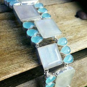 Robin's Nest Jewels  Jewelry - NEW! Rainbow Moonstone bracelet