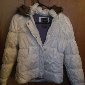 Girls Med Minus zero jacket in perfect condition.