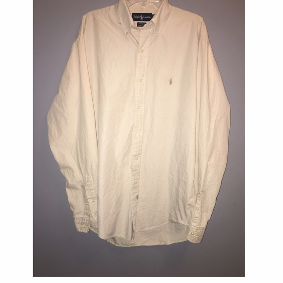 Ralph Lauren Shirts - Ralph Lauren Yarmouth Cotton Button Down