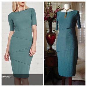 Bailey 44 Dresses & Skirts - Bailey 44 columns green dress