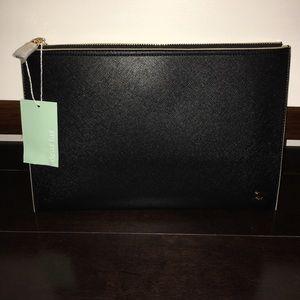 Deux Lux Handbags - Authentic Black Deux Lux Azure Clutch