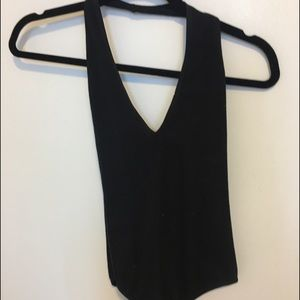 American Apparel Other - American Apparel Deep V scoop back body suit