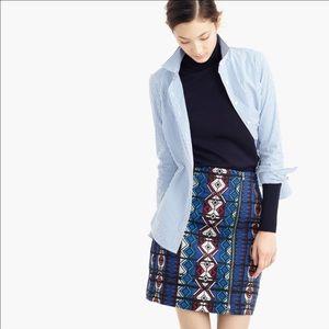 J. Crew Dresses & Skirts - J.Crew Windowpane Jacquard Mini Skirt