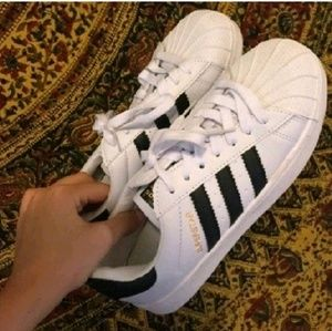 Adidas Shoes - ADIDAS SUPERSTARS!!!!