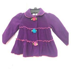 Kids Headquarters Other - Adorable girl's fleece coat