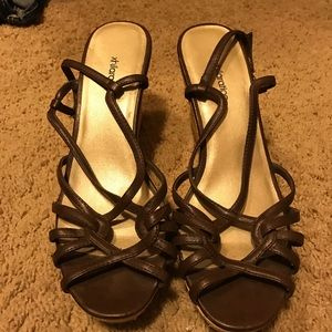 Brown Xhiliration Wedges