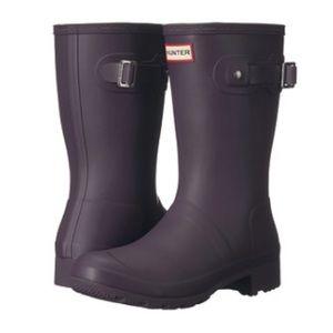 Brand new hunter short rain boots