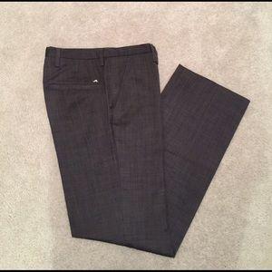 J. Lindeberg Other - J. Lindeberg Mens dark grey wool blend slacks