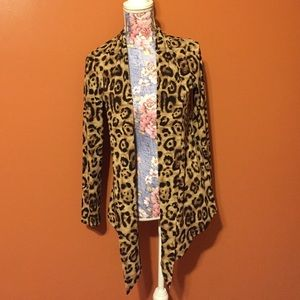Andrea Behar Other - Leopard Cardigan Size Small
