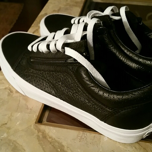 Vans Sk8 Low (lux leather) NWT