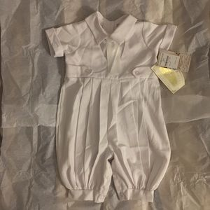 Little Things Mean a Lot Other - Little Things Mean a Lot Christening Romper