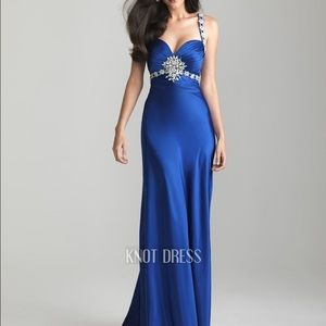 Night Moves Dresses & Skirts - Royal Blue Prom Dress