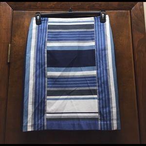 J. McLaughlin Dresses & Skirts - J.McLaughlin Martinique Novelty Stripe Skirt NWT