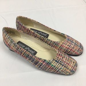 🎉sale🎉Brand New Colorful Easy Street Tweed Heels