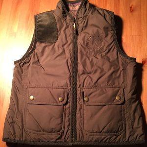 Lauren Ralph Lauren Jackets & Blazers - Lauren Ralph Lauren quilted reversible crest vest