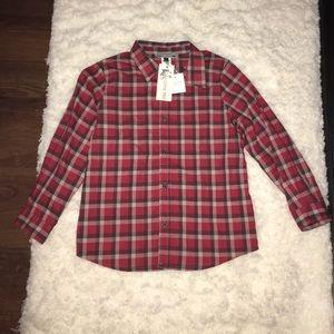 Bonpoint Other - NEW Boys Plaid Bonpoint shirt