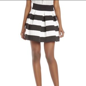 Honey Punch Dresses & Skirts - Striped Bandage Skirt By Honey Punch
