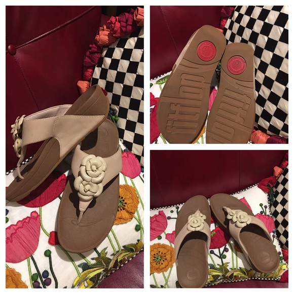 08b5cf1ed fitflop Shoes - 👡👡👡Fitflop Fleur Size 8 Cream Shoes👡👡👡