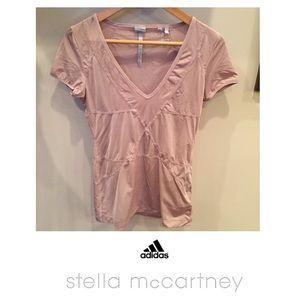 Adidas by Stella McCartney Tops - Stella McCartney Adidas Athletic V-Neck