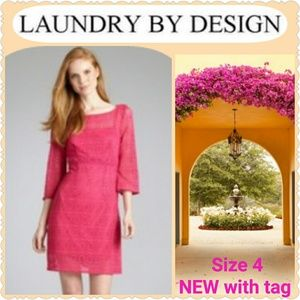 Laundry by Design Dresses & Skirts - *SALE* NWT dress by LAUNDRY in Bougainvillea Pink