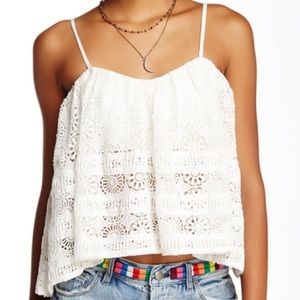 Free People Tops - Free People Sydney Lace Tube Top