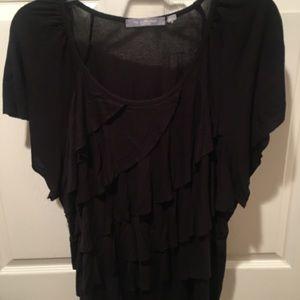 NY Collection Tops - Black sleeveless shirt