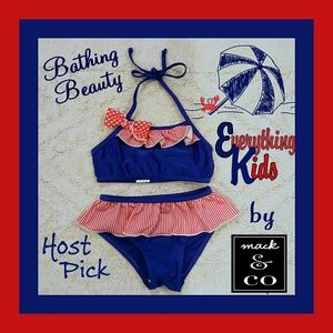 Bathing Beauty by Mack & Co Patriotic Bikini