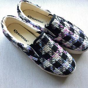 Superga Shoes - Superga 2314 Boucle wool pink multi