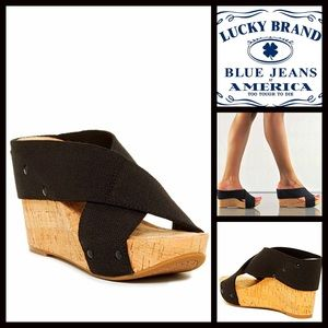 Lucky Brand Shoes - ❗️1-HOUR SALE❗️LUCKY BRAND Wedge Sandals