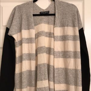Central Park West Sweaters - BN Central Park West Striped Cardigan