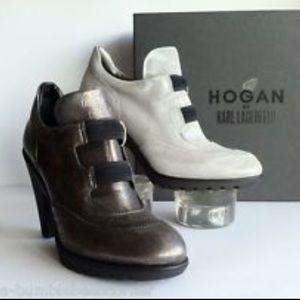 Hogan Shoes - Hogan by k. Lagerfeld women's bootie size 9