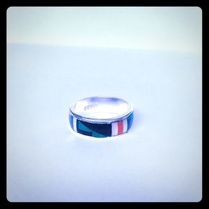 Zunie Jewelry - Zuni Turquoise Patterned ring
