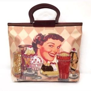 Isabella Fiore Handbags - 🆕 ISABELLA FIORE Ruby sue waitress ice cream bag