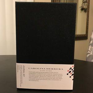 Carolina Herrera Other - 🔴REDUCED🔴CAROLINA HERRERA Journal Set