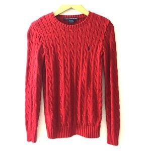 Ralph Lauren Sweaters - Ralph Lauren Sport knit pullover in Crimson Red