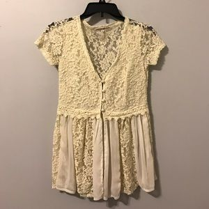 Altar'd State lace blouse !