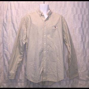 Ralph Lauren Other - Yellow Striped Ralph Lauren Button Down
