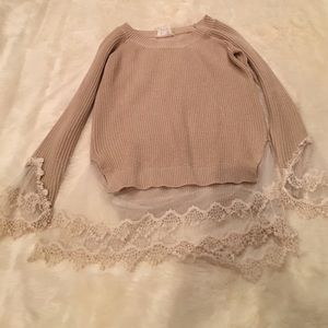 Spool 72 Sweaters - Lace detail sweater