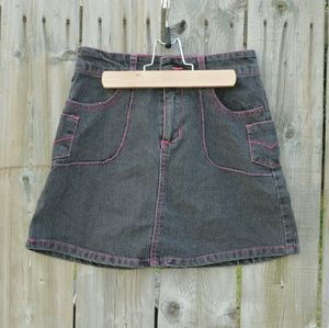 Other - Black Denim Skirt