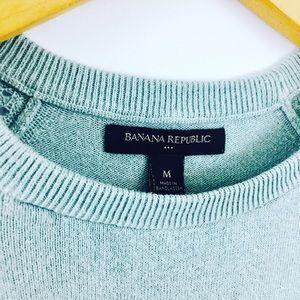 Banana Republic Sweaters - Banana Republic Knit robin egg blue