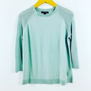 Banana Republic Sweaters - Banana Republic Knit robin egg blue