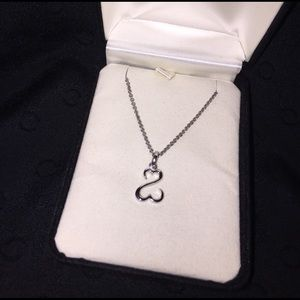 Kay Jewelers Jewelry - Silver Kay open heart necklace