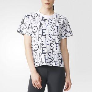 Adidas by Stella McCartney Tops - Stella McCartney for Adidas sport logo tshirt NWT