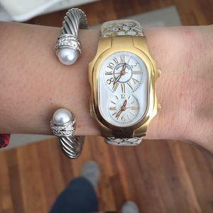 Philip Stein Teslar Accessories - Philip Stein Gold Watch