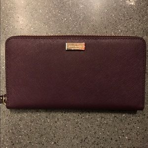 kate spade Handbags - KATE SPADE: Mulledwine Neda in Laurel Way