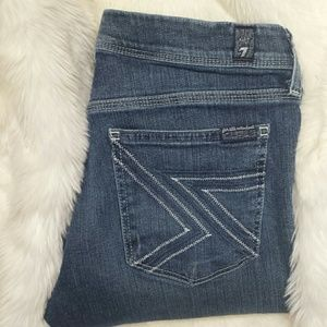 7 For All Mankind Denim - 7 for all mankind FLYNT Bootcut Jeans Size 28