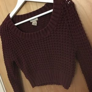 Arizona Jean Company Sweaters - Burgundy M half sweater Arizona