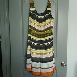 Eloquii Dresses & Skirts - Striped fit and flare dress